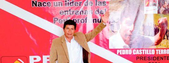 Encuesta en Perú: Pedro Castillo, maestro de escuela, podría ganar las Elecciones Generales de este domingo