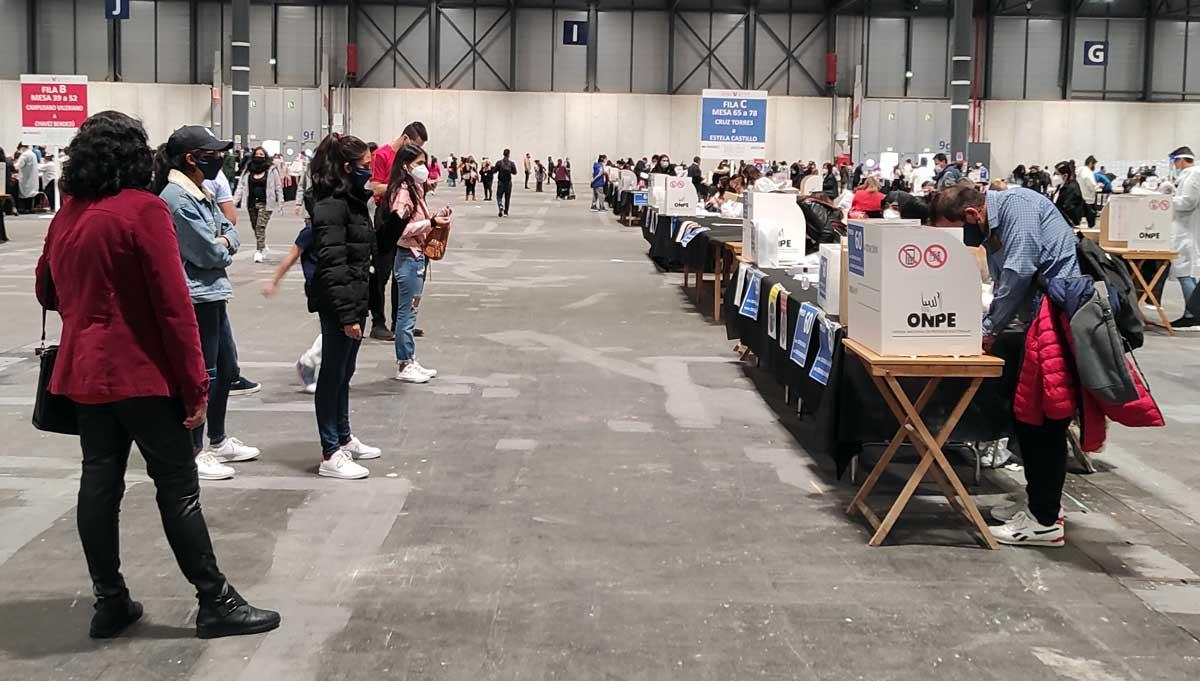 Madrid: Miles de peruanos votaron para elegir al próximo presidente del país andino