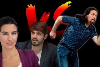 Hugo Pereira se cachondea del 'cobarde' Pablo Iglesias y de su fuga del debate de la SER