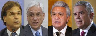 Las duras palabras de Uruguay, Chile, Colombia y Ecuador contra la tiranía de Maduro en la Cumbre Iberoamericana