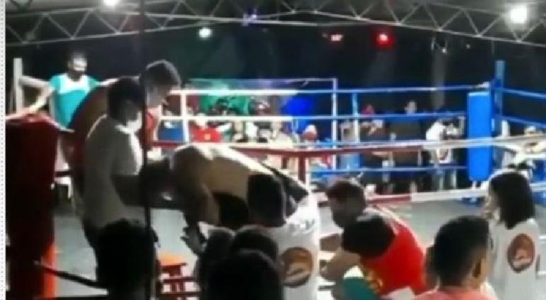 Un boxeador fallece en un combate clandestino después de un descomunal KO