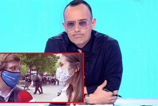 La despreciable ida de olla de Risto por una respuesta zalamera de Almeida a una reportera