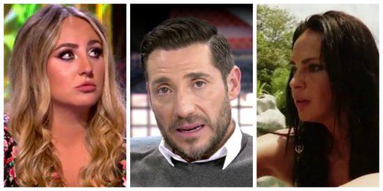Demencial: Telecinco despide a Antonio David Flores pero blanquea su imagen con su mujer y su hija