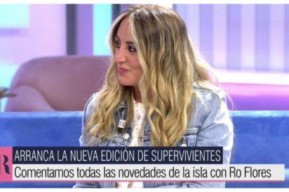 Decepcionante estreno de Rocío Flores en 'AR': nervios, torpeza y ni una palabra sobre su madre