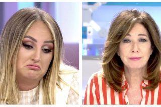 Rocío Flores cava su tumba mediática con su actitud chulesca ante Ana Rosa Quintana
