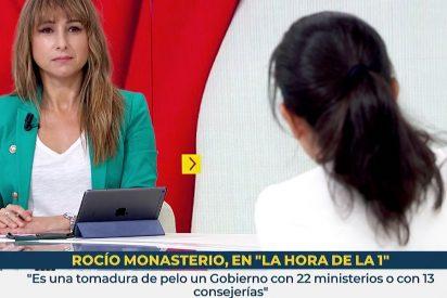 """Rocío Monasterio para los pies a Ana Pardo de Vera: """"¿Está usted llamando mentirosos a los vecinos de Ciudad Lineal?"""""""