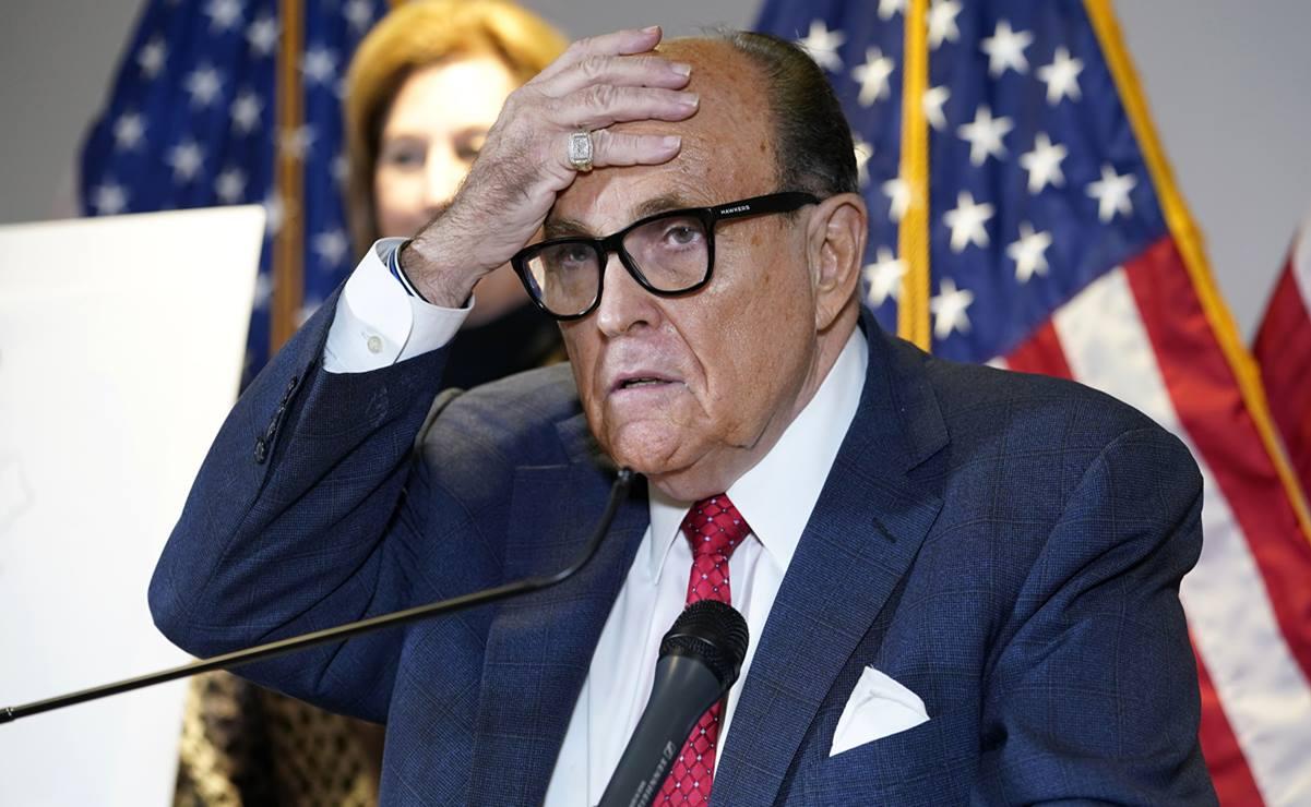 El FBI allana la vivienda de Rudy Giuliani en Nueva York
