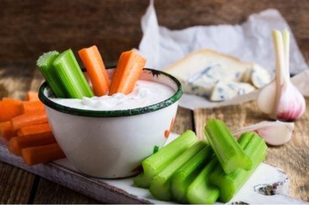 Receta de salsa de queso azul