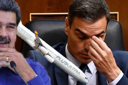 EEUU deja en evidencia a Pedro Sánchez y retiene a uno de los dueños de la chavista Plus Ultra
