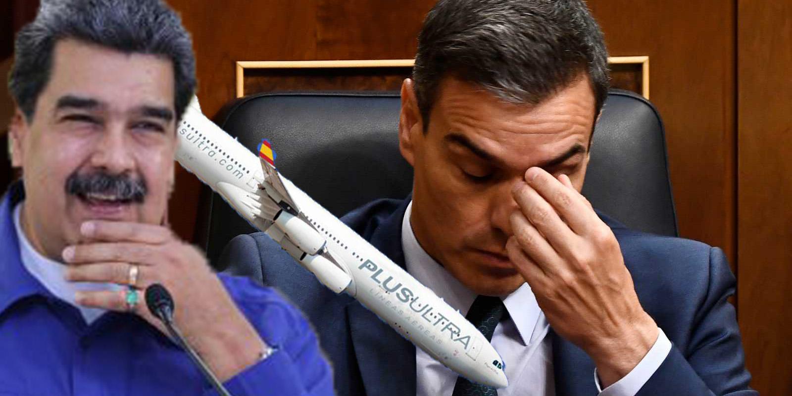 El rescate de la chavista Plus Ultra genera turbulencias al Gobierno Sánchez: ¿Mega fraude con apoyo cubano?