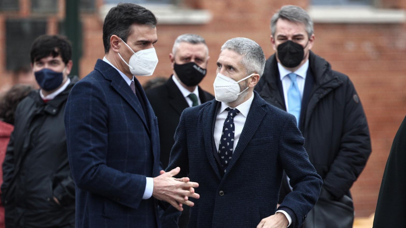 Marlaska causa un cisma en el Gobierno: acusa por escrito a dos ministros de Sánchez