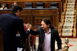 El pacto secreto de Sánchez: Pablo Iglesias cobrará un sueldo anual vitalicio de 107.000 euros