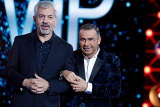 Telecinco 'limita' a Jorge Javier Vázquez y acaba en tragedia: Antena 3 se 'relame' y Sobera se hunde