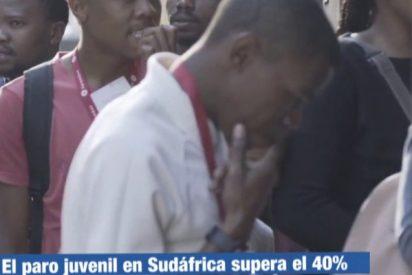 """Mano de palos a TVE por irse hasta Sudáfrica para hablar de la alta tasa de desempleo juvenil: """"En España es el mismo"""""""