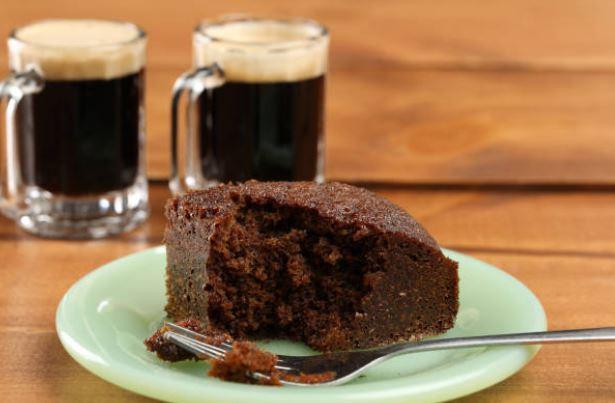Tarta Guinness de cacao y cerveza negra