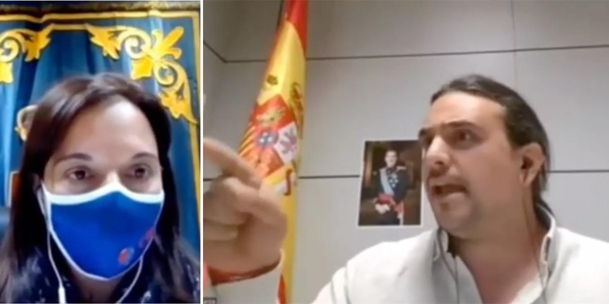"""VOX denuncia a la socialista alcaldesa de Getafe: """"¡Vergüenza! ¡Induce a los niños de Primaria a practicar sexo!"""""""