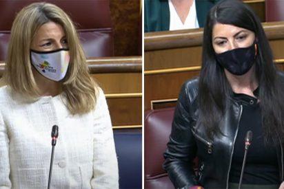 """Macarena Olona: """"Señora ministra comunista, es usted todo propaganda y la estela que deja es de ruina"""""""