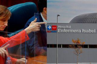 """Los sanitarios indignados con la 'pistolera' de Más Madrid por su ataque al Zendal: """"Es una ignorante"""""""