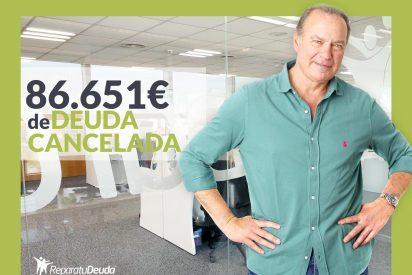 Repara tu Deuda cancela 86.651 € en Guadalajara (Castilla-La Mancha) con la Ley de Segunda Oportunidad