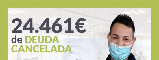 Repara tu Deuda cancela 24.461 € en Les Franqueses del Vallès (Barcelona) con la Ley de Segunda Oportunidad
