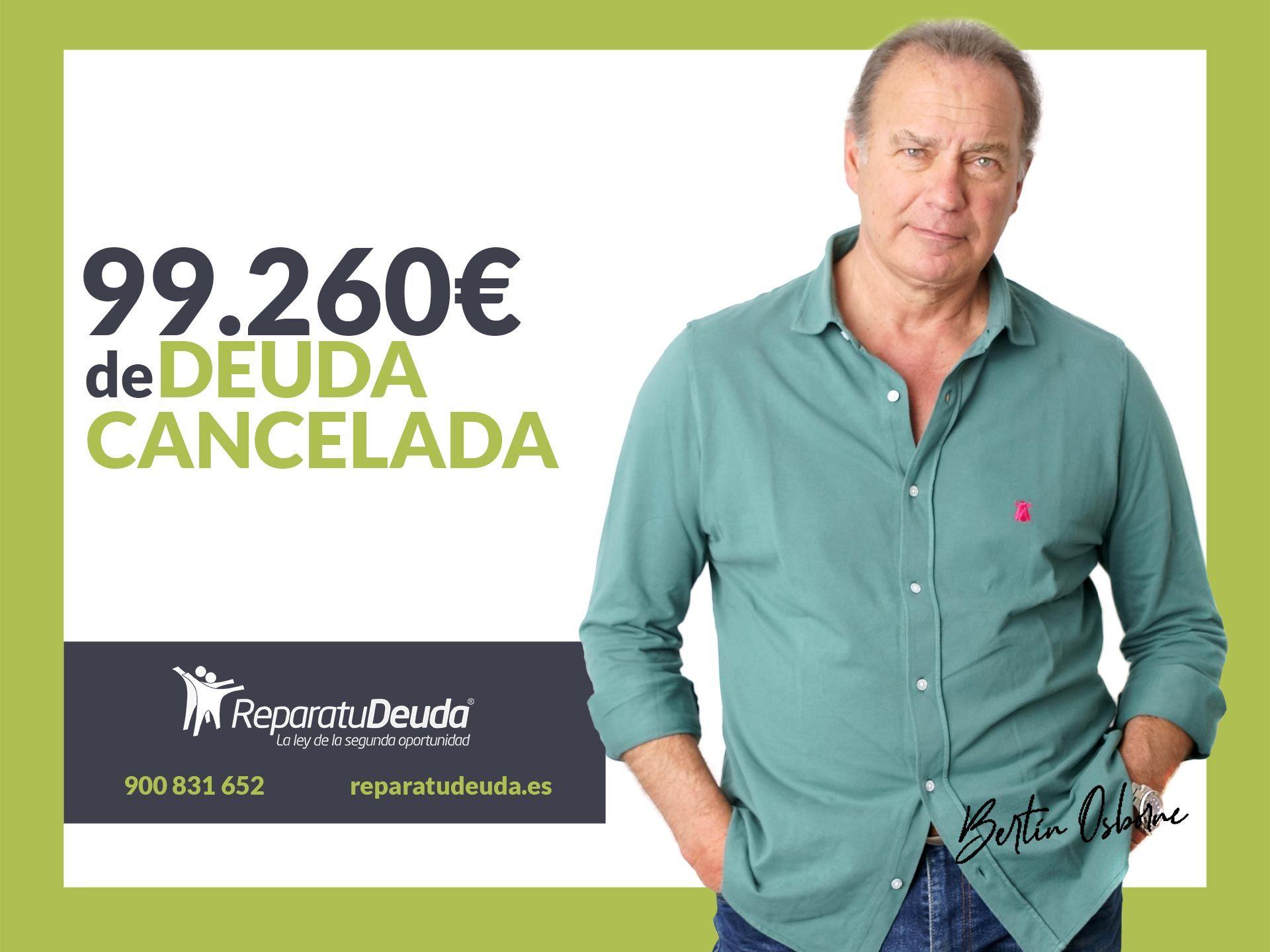Repara tu Deuda Abogados cancela 99.260 € en Madrid con la Ley de la Segunda Oportunidad