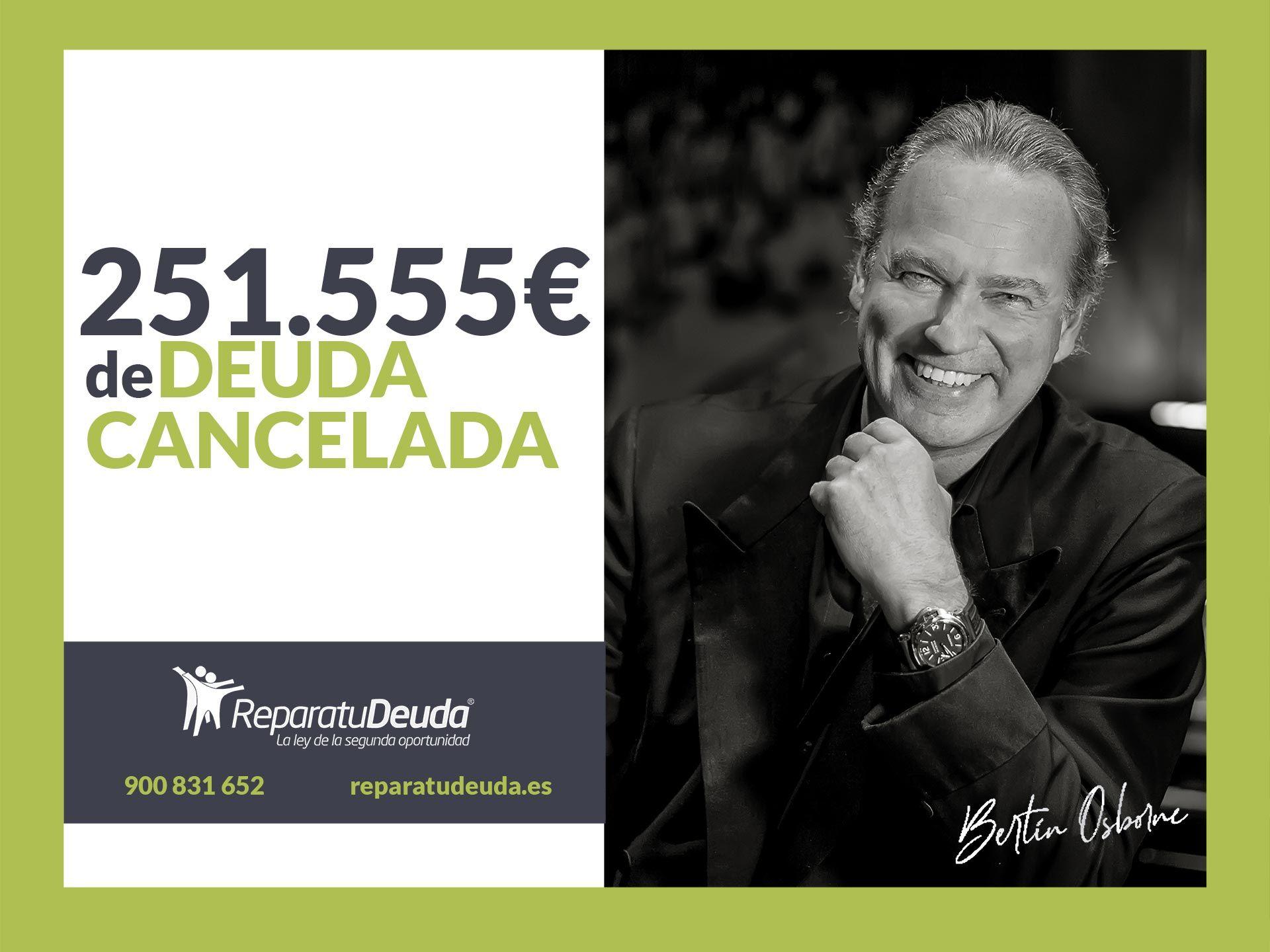 Repara tu Deuda abogados cancela 251.555 € en Valencia con la Ley de Segunda Oportunidad