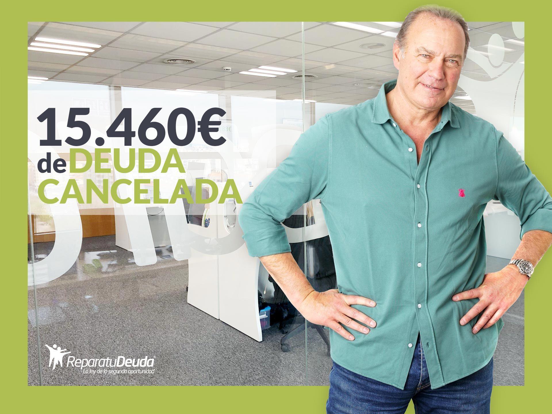 Repara tu Deuda cancela 15.460€ con deuda pública en Canarias con la Ley de la Segunda Oportunidad