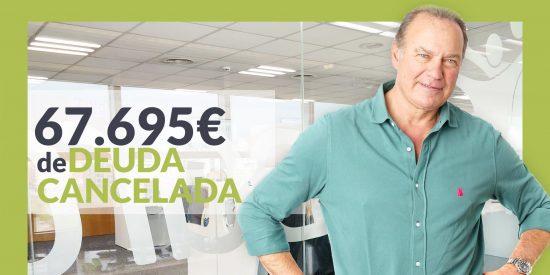 Repara tu Deuda abogados cancela 67.695 € en Valencia con la Ley de Segunda Oportunidad