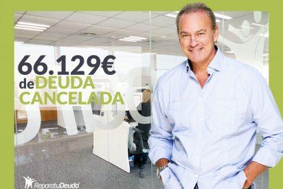 Repara tu Deuda cancela 66.129 € en Guadalajara (Castilla-La Mancha) con la Ley de Segunda Oportunidad