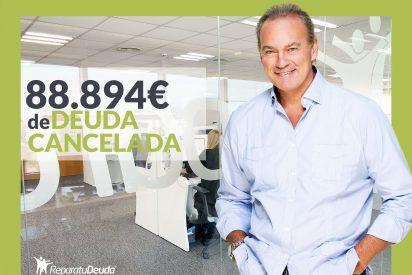 Repara tu Deuda Abogados cancela 88.894 € en Zaragoza (Aragón) con la Ley de Segunda Oportunidad