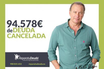 Repara tu Deuda Abogados cancela 94.578 € en Madrid con la Ley de Segunda Oportunidad
