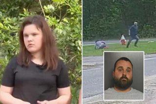 Vídeo: la niña forcejea con un tipo armado para evitar ser secuestrada