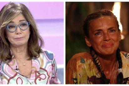 Giro de guion: Ana Rosa Quintana cambia de posición y 'azota' a Olga Moreno ('Supervivientes 2021')