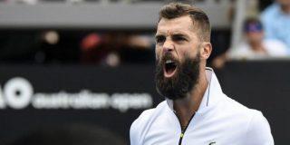 El francés Benoit Paire, quien confiesa que sólo juega al tenis por dinero, monta un ridículo show en Roma