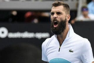 El francés Benoit Paire, quien confiesa que sólo juega al tenis por dinero, monta un ridículo show en Roma