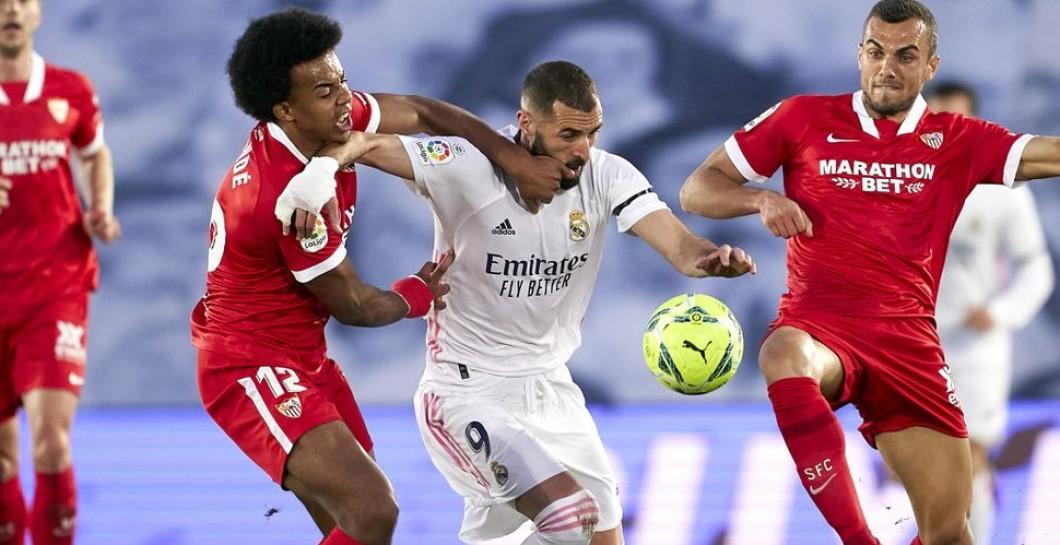 ¡Atraco!: Real Madrid y Sevilla empatan en un partido manchado por el penalti más polémico de la temporada