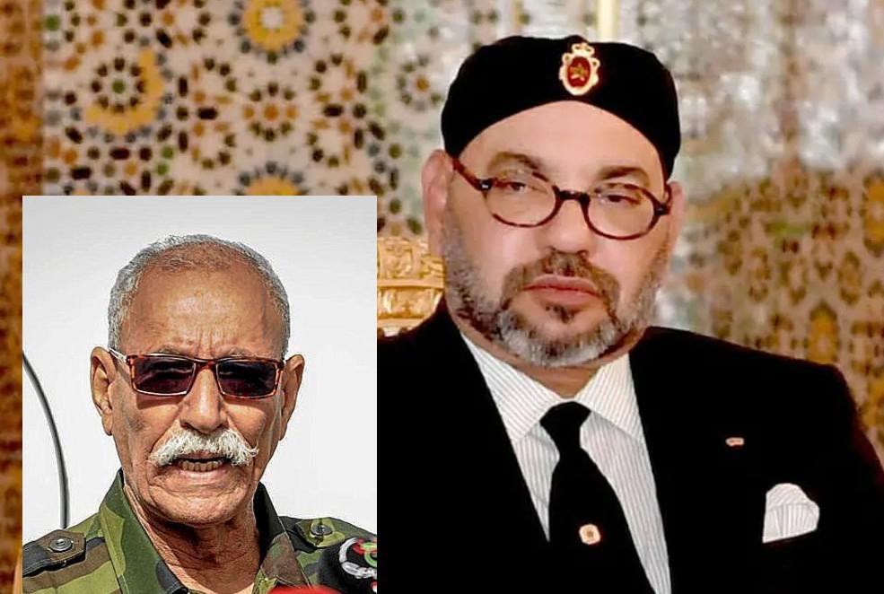 Este es Brahim Ghali, el siniestro jefe del Polisario que Sánchez trajo a España y ha cabreado a Mohamed VI