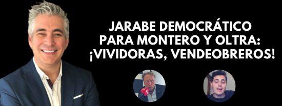 """El Quilombo: Jarabe democrático para Montero y Oltra: """"¡Vividoras, vendeobreros!"""""""
