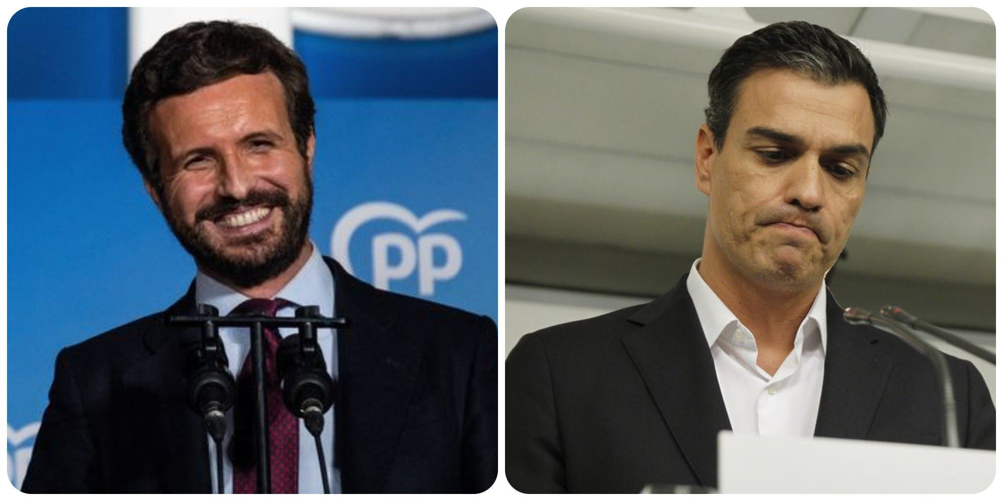 Encuesta: El PP rebasa al PSOE (138-103) y con VOX (40) alcanza la mayoría absoluta