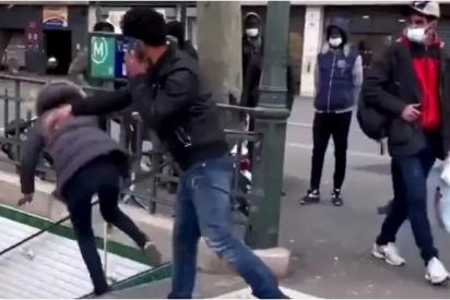 Francia deporta a un español por empujar a una mujer por las escaleras del metro de París