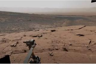 El impresionante vídeo de la vista panorámica de Marte captada por el rover Curiosity
