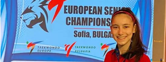 La taekwondista Adriana Cerezo, clasificada para los JJOO de Tokio con 17 años