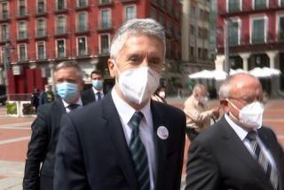 """Marlaska, recibido con abucheos en Valladolid: """"Fuera, sinvergüenza"""""""