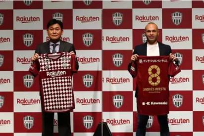 Andrés Iniesta, eterno: Renueva con el Vissel Kobe hasta 2023