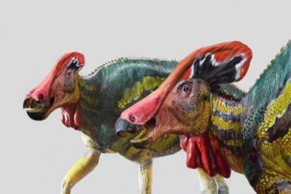 Descubren en México una nueva especie de dinosaurio 'parlanchín'
