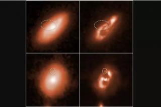 El telescopio Hubble descubre el origen de las cinco señales cósmicas de radio