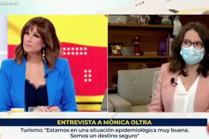 """Mónica Oltra ningunea en RTVE a los 3.000 médicos despedidos por WhatsApp: """"No es una gran decisión"""""""