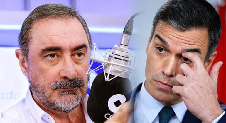 """Carlos Herrera: """"Lo de los macarras de Pablito agrediendo a VOX es gravísimo, pero más grave es que el Gobierno lo tape"""""""
