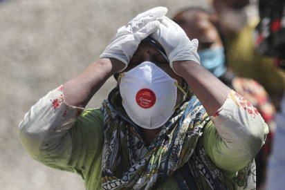 India asolada por el COVID-19: registran 4.000 muertes por tercer día consecutivo