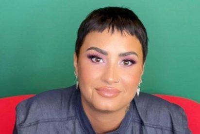 La cantante Demi Lovato anuncia que a partir de ahora ella es del género no binario